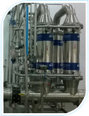 Downstream filtration for symbiotec